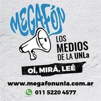 Logo Megafon - Universidad Nacional de Lanús