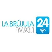 Logo La Brújula 24 FM