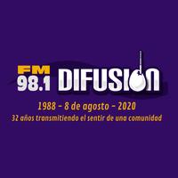 Logo FM DIFUSION 98.1