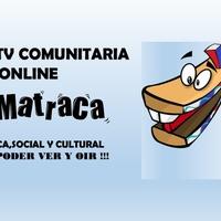 Logo LA MATRACA  Radio y Tv Comunitaria Online