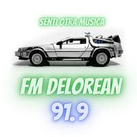 Logo Delorean FM 91.9