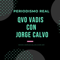 Logo Qvo Vadis con Jorge Calvo