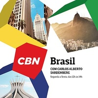Logo CBN Brasil