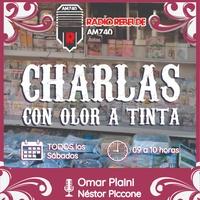 Logo CHARLAS CON OLOR A TINTA