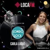 Logo Sonido Loca con Carla Luque