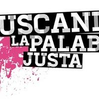 Logo  BUSCANDO LA PALABRA JUSTA
