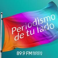 Logo Radio con vos música