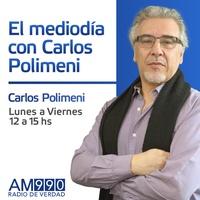 Logo El Mediodía Con Carlos Polimeni