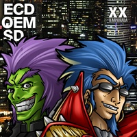 Logo En Caso de que el Mundo Se Desintegre - ECDQEMSD