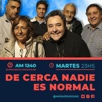 Logo De Cerca Nadie es Normal