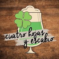 Logo 4 HOJAS Y ESCABIO
