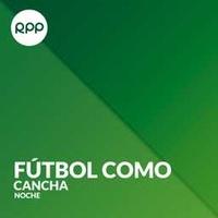 Logo Fútbol como Cancha - Noche