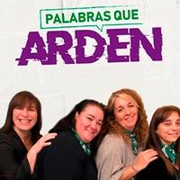 Logo PALABRAS QUE ARDEN