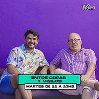 Logo ENTRE COPAS Y VINILOS
