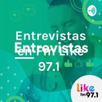 Logo Entrevistas en Fm Like 97.1