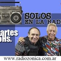 Logo SOLOS EN LA RADIO