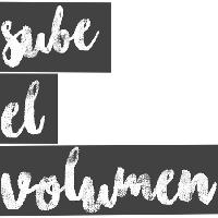 Logo Sube el Volumen