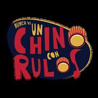 Logo ¡NUNCA VI UN CHINO CON RULOS!
