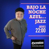 Logo Bajo la noche azul...Jazz!