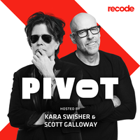 Logo Pivot with Kara Swisher and Scott Galloway