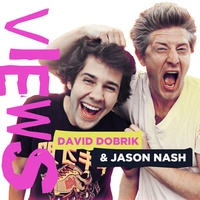 Logo VIEWS with David Dobrik and Jason Nash