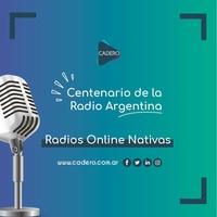 Logo Centenario de la Radiofonía argentina