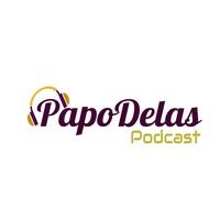 Logo Papo Delas Podcast