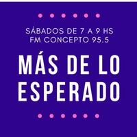 Logo MÁS DE LO ESPERADO