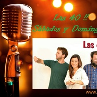 Logo Las 40. Con Felicitas Bonavitta.
