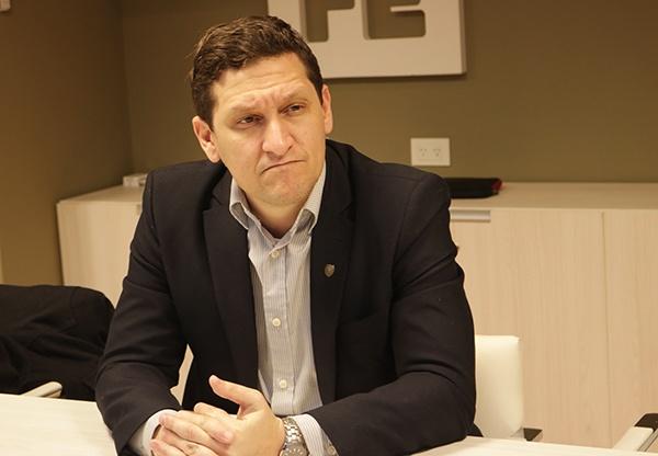 """MAXIMILIANO NERI, titular de la EPE, """"Dialogando con Aleart ..."""